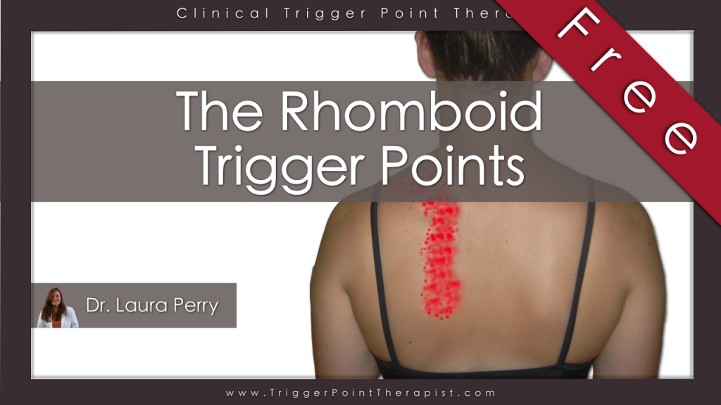Trigger Point Therapy for Rhomboids video