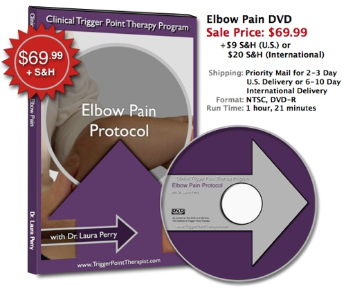 """Trigger Point DVD for Elbow Pain"""