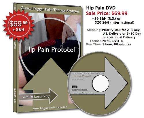"""Trigger Point DVD for Hip Pain"""