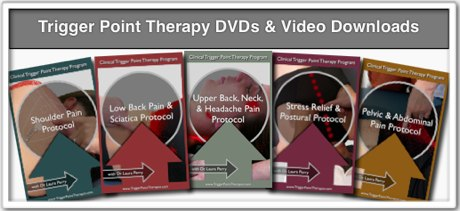 """trigger point DVD"" titles icon"