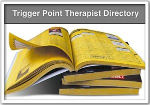"""trigger point therapists directory"" icon"