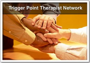 """trigger point therapist"" network icon"