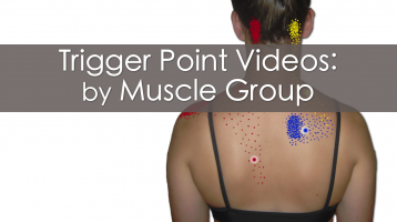 Trigger Point Videos by Muscle Group
